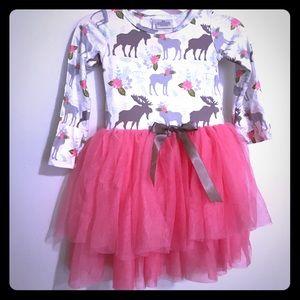 Other - Darling moose dress 😍 NWOT- boutique
